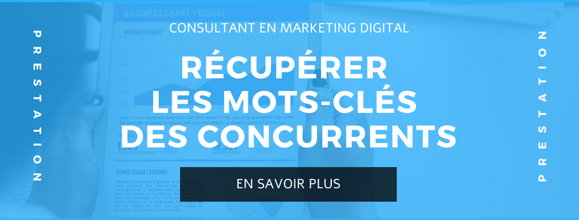 CONSULTANT MARKETING CONCURRENTS MOTS CLÉS