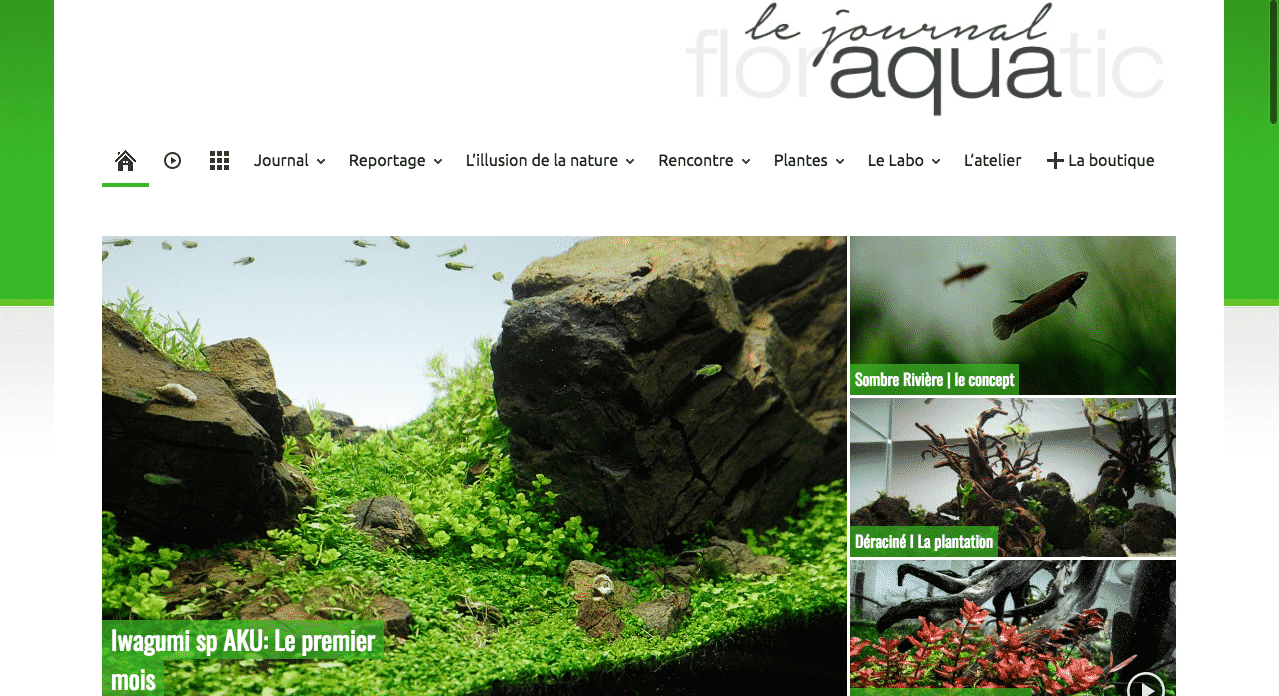 Le Journal Aqua