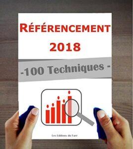 100 Techniques de référencement en 2018 - Livre sur Amazon